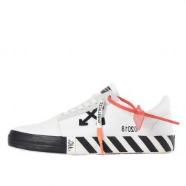 Off-White Vulc Low Top Sneakers White (Updated Stripes) (2018) (OMIA085R198000160100)