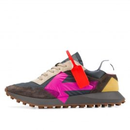 Off-White Arrow Sneaker Grey Pink (2020) (OMIA159R20D390590828)