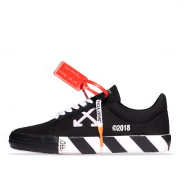 Off-White Vulc Low Top Sneakers Black Striped (182607M237002)