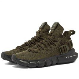 Neil Barrett x Li-Ning Buckle Strap Mesh Sneaker (BCT353-P9023-444)