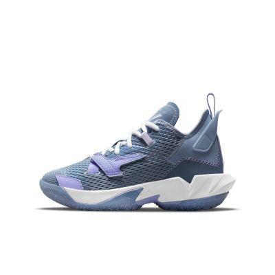 """Баскетбольные кроссовки для школьников Jordan """"Why Not?"""" Zer0.4 (CQ9430-400)"""