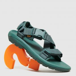 Teva Hurricane Verge Active Sandals (GREEN/GREEN)
