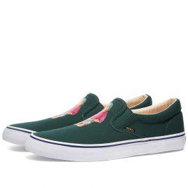 Polo Ralph Lauren Thompson Bermuda Bear Vulc Sneaker (816834368002)