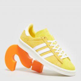 adidas Originals Campus 80s Women's (Yellow/White)