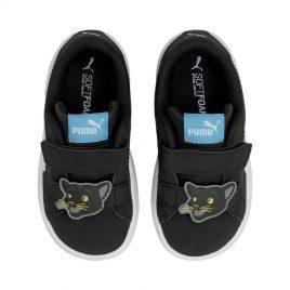 Puma   Smash v2 Summer Animals Babies Trainers (368789-01)