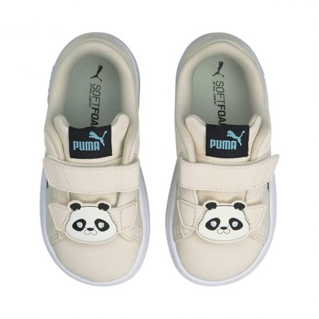 Puma   Smash v2 Summer Animals Babies Trainers (368789-02)