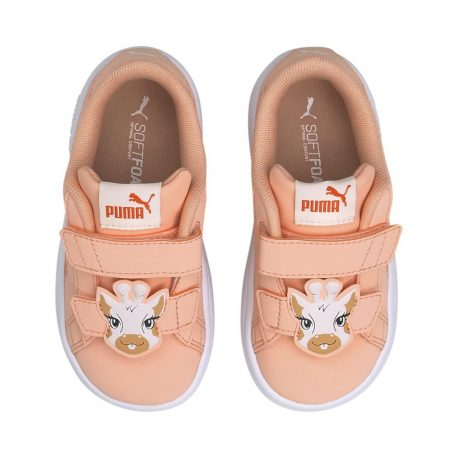 Puma   Smash v2 Summer Animals Babies Trainers (368789-03)