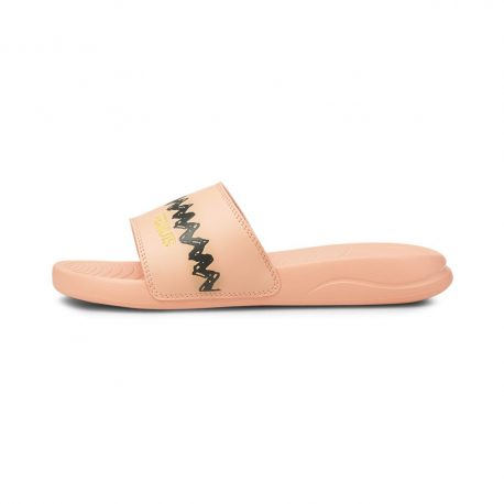 Puma   x PEANUTS Popcat 20 Youth Sandals (375825-02)