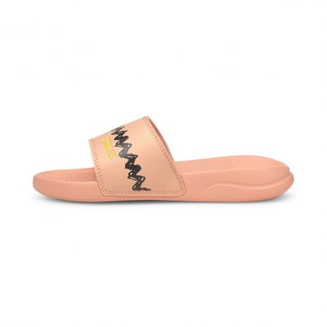 Puma   x PEANUTS Popcat 20 Kids Sandals (375826-02)