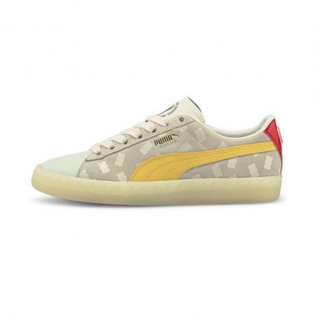Puma   x HARIBO Suede Youth Trainers (382843-01)