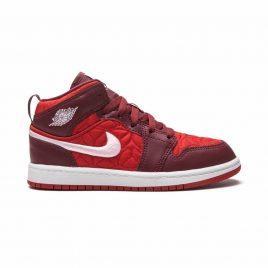 Air Jordan 1 Mid SE Red Quilt (AV5173600)