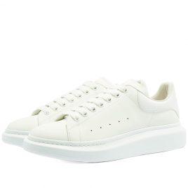 Alexander McQueen Glow In The Dark Upper Wedge Sole Sneaker (662653WIA4M-9000)