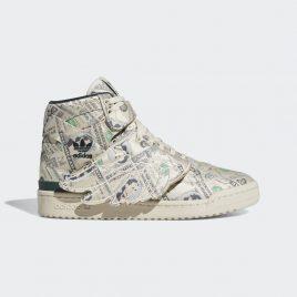 adidas Originals  Jeremy Scott Forum Wings 10 Money  (Q46154)