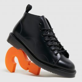Fred Perry George Cox Leather Monkey Boot (SB5372102)