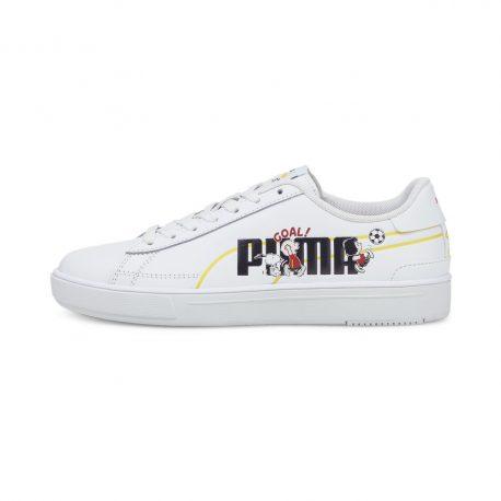 Puma   x PEANUTS Serve Pro Youth Trainers (380936-01)