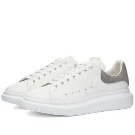 Alexander McQueen Heel Tab Wedge Sole Sneaker (553680WHGP7-9426)