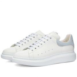 Alexander McQueen Heel Tab Wedge Sole Sneaker (553680WHGP7-9428)