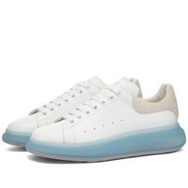 Alexander McQueen Crystal Wedge Sole Sneaker (667828WIAFA-9430)