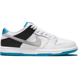 Nike SB Dunk Low Neutral Grey Laser Blue (BQ6817-101)