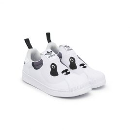 adidas Kids panda Superstar trainers (Q46317)